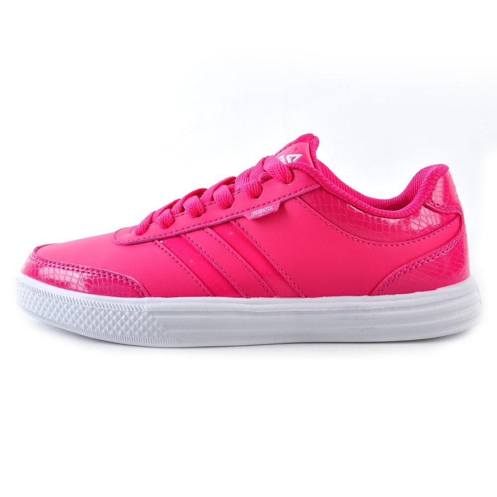 ФОТО PEAK SPORT Women's Genuine New Series Stylish Skateboarding Shoes Comfortable Classic Shoes E21112B