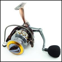 14BB Metal Spinning Fishing Reel 1000-7000 High Speed Ratio 5.2:1 Fishing Reel Super Light Weight Left/Right Handle Fishing Reel