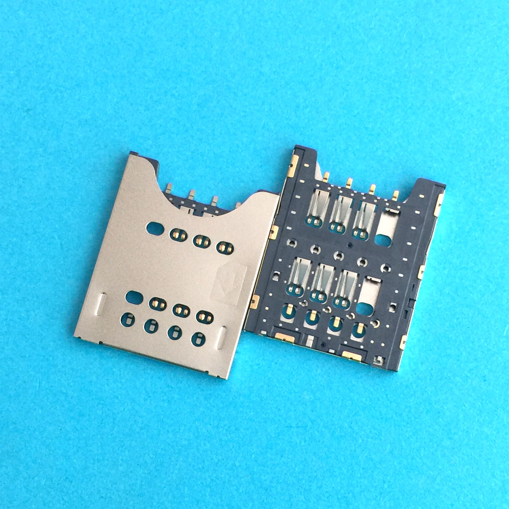For Sony Xperia Ray ST18 ST18i Miro ST23i J ST26 ST26i Sim Card Slot Tray Holder Socket Reader Module Repair Part