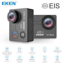 Original Eken H7 Black Ultra HD 4K EIS Action Camera 16 Million Pixels 30m Waterproof 2.0' Screen Sport Camera Go Extreme Pro