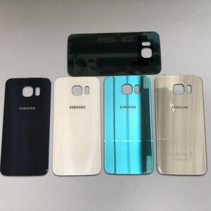 Image 5 - Voor Samsung Galaxy S6 Rand G925 G925F Midden Frame Volledige Behuizing Chassis Batterij cover Glas + Midden Frame S6 G920 g920F