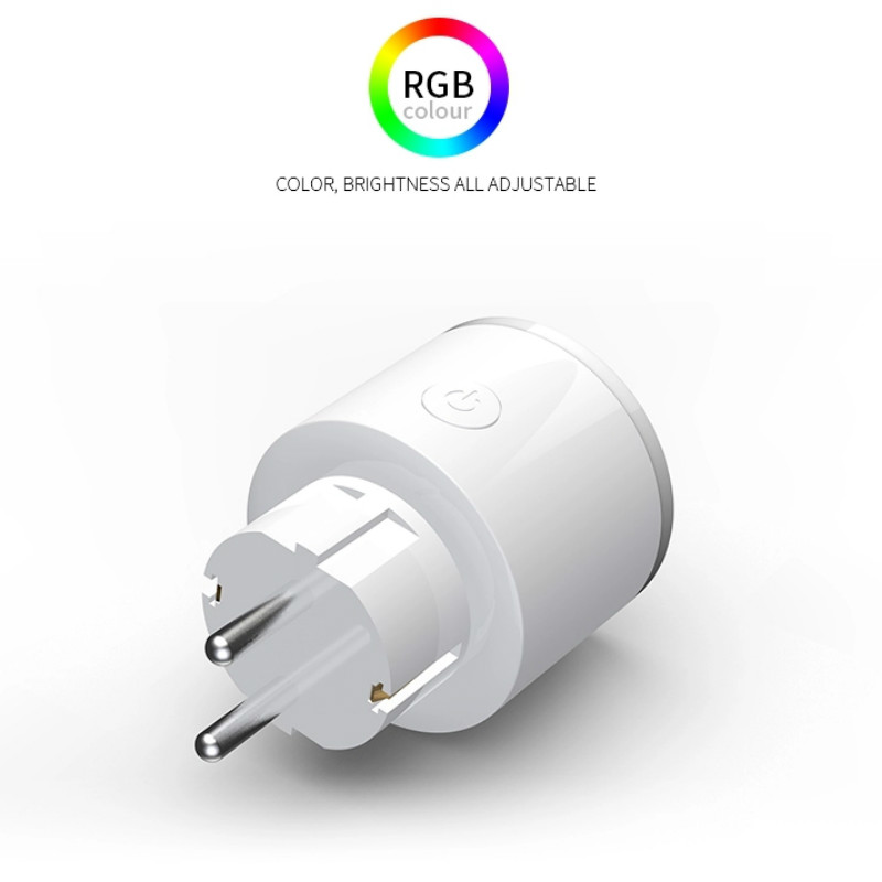 Image 3 - Smart Charger for  EU Wifi Smart Socket Power Monitoring Energy Saver Works With Google Home Mini Alexa IFTTT Smart Life APP-in Mobile Phone Chargers from Cellphones & Telecommunications