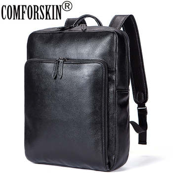 COMFORSKIN Brand Guaranteed Genuine Leather Women Backpacks New Arrivals Mochilas Mujer 2018 European and American Shoulder Bag