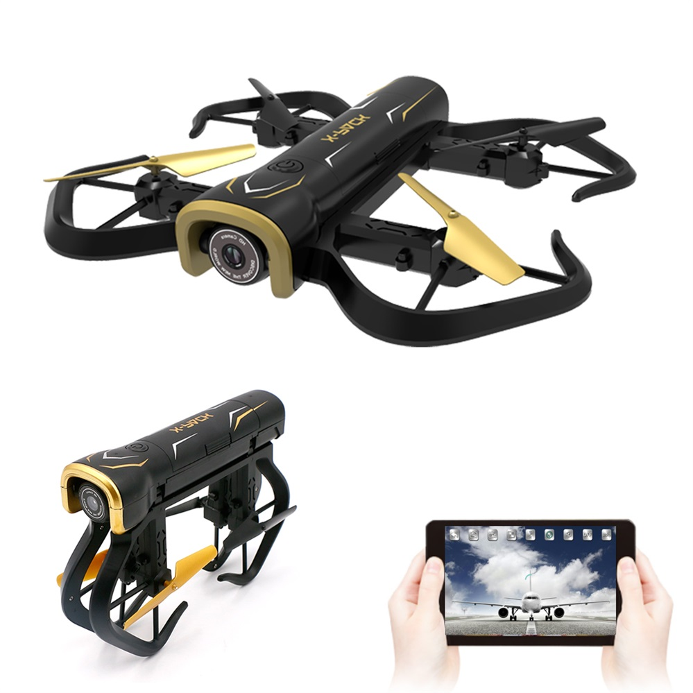 Foldable Mini Drone WIFI FPV Drone RC Quadcopter with HD Camera Altitude Hold Model Selfie Dron VS JJRC H43 H43HW S9 S9W