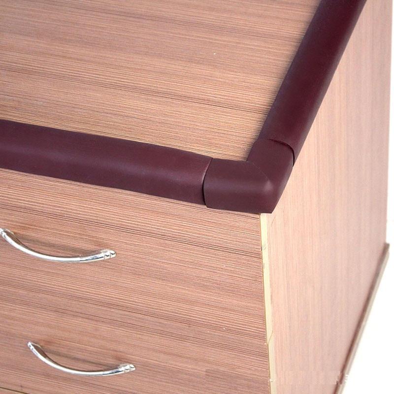 Edge & Corner Guards 2M length angle shape Foam desk corner edgeBaby Kid Children desk shelf Edge Cushions Protector Guard