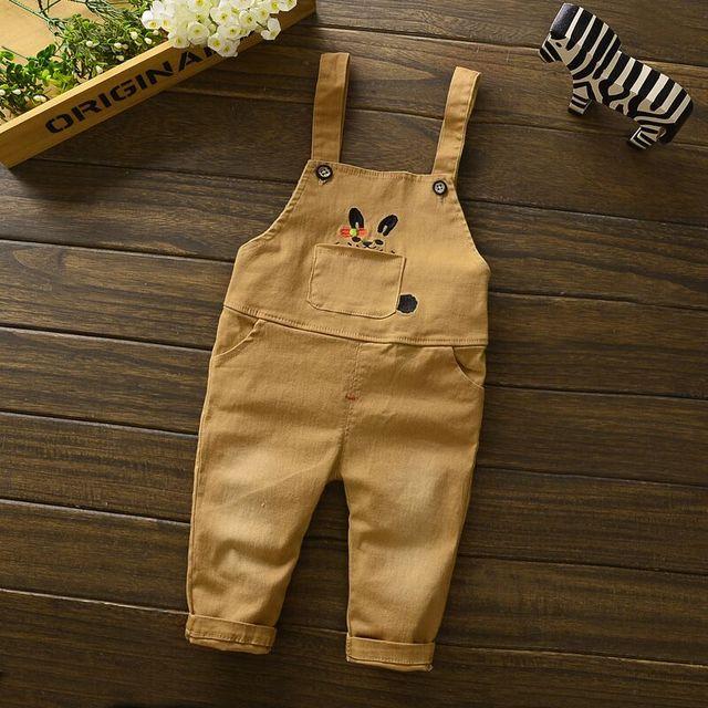 Baby Boys Warm Bib Coveralls Pants