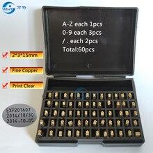 2*3*15, английская буква, шрифт, персонажи для DY-8/аппарат для кодирования информации, горячий штамп-кодер, чернила для принтера кодер, ленточный кодер