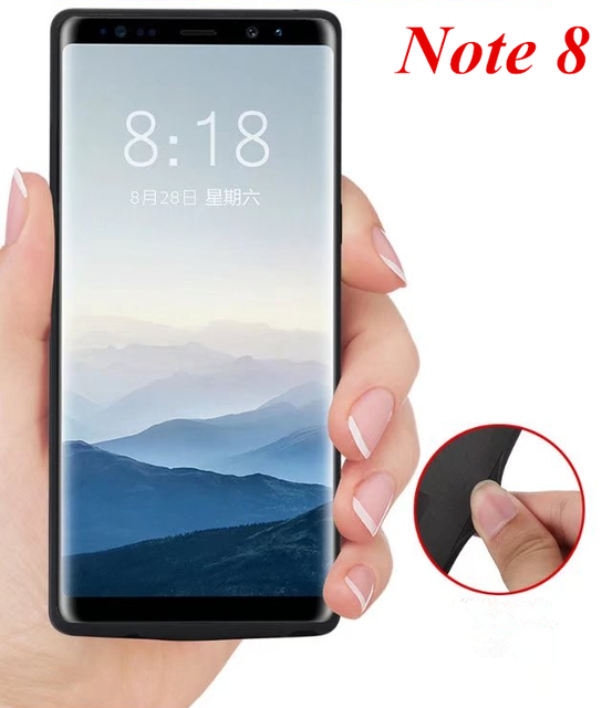 new style 4c591 6d92d US $23.9 40% OFF|Aliexpress.com : Buy For Samsung Galaxy Note 8 Battery  Case 6500Mah Battery Charger Case Capa Power Bank For Samsung Note 8 n9500  ...