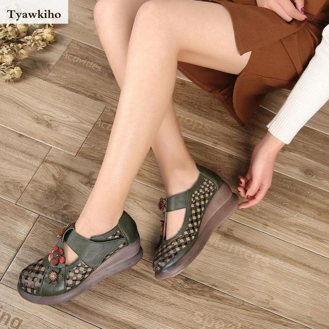 a1f7898573 Tyawkiho-Genuine-Leather -Women-Sandals-5-CM-High-Heels-Summer-Shoes-Hollow-Out-Pumps-Flower-Leather .jpg 640x640.jpg