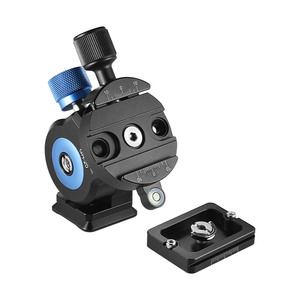 Image 3 - Andoer GH 20 Aluminum Alloy Tripod Head Tilt CNC Monopod Ball Head w/Quick Release Plate Compatible for ARCA SWISS Sirui Mount