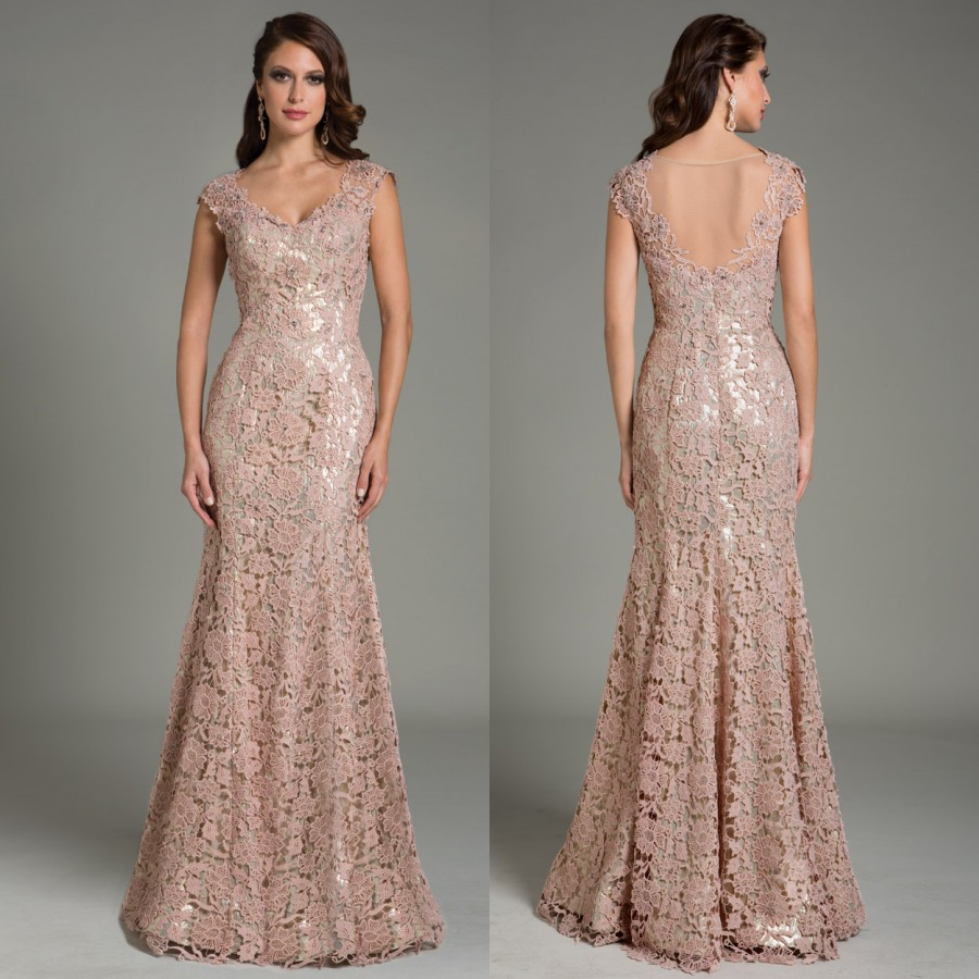 Fancy Dusty Pink Gown - Top Wedding Gowns