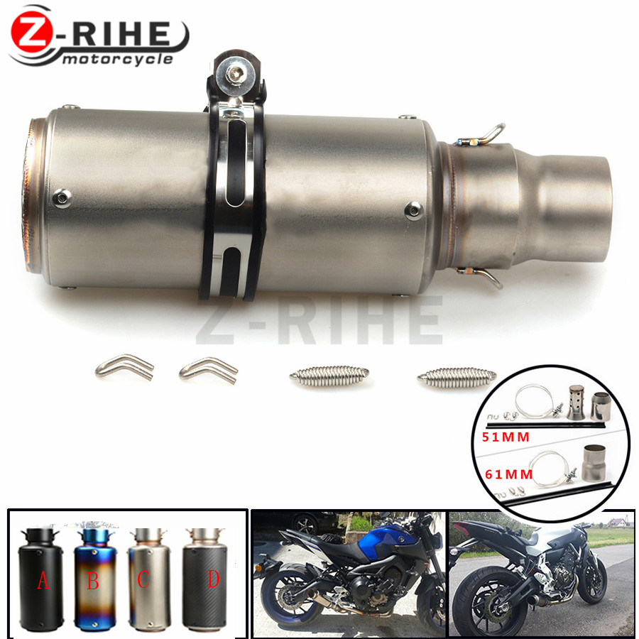 Motorcycle Exhaust Pipe Scooter Modified exhaust Muffler pipe For bmw f650gs F 650gs f 650 gs f650 gs 2008-201 motorcycle motorbikes wind deflectors windshield windscreen for 2008 2017 bmw f800gs f650gs f800 f650 gs 800gs 650gs smoke