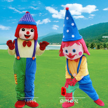Adult Halloween Clown Mascot Costume Clowns Cartoon Costumes Advertising Animal for Sale Size