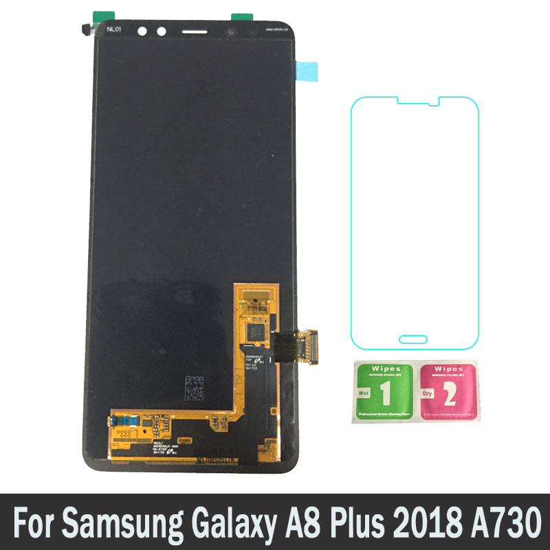 New Replacement Parts LCDs For Samsung Galaxy A8 Plus 2018 A730 A730F LCD Screen Display Touch Digitizer Assembly 100% TestedNew Replacement Parts LCDs For Samsung Galaxy A8 Plus 2018 A730 A730F LCD Screen Display Touch Digitizer Assembly 100% Tested