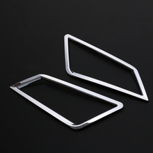 JY ABS Chrome Front Fog Lamp Cover Trim Car Styling Accessories Sticker For SKODA KODIAQ 2018