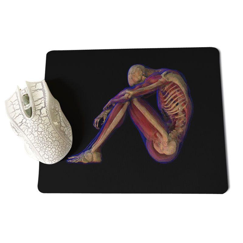 MaiYaCa свой собственный коврики Чехол конструкций Анатомия человека компьютерных игр для мышей Размеры для 18x22 см 25x29 см резиновые для мышей