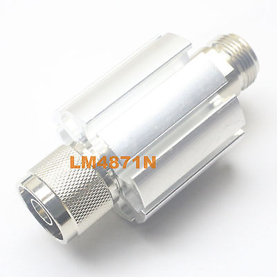 Hot Factory Direct Wholesale Attenuator 10W 10 Watts DC-3 Ghz 30dB N RF coaxial Power plug M to jack F 50resistance factory direct selling n type 100w high power coaxial fixed attenuator and rf attenuator 1 60db