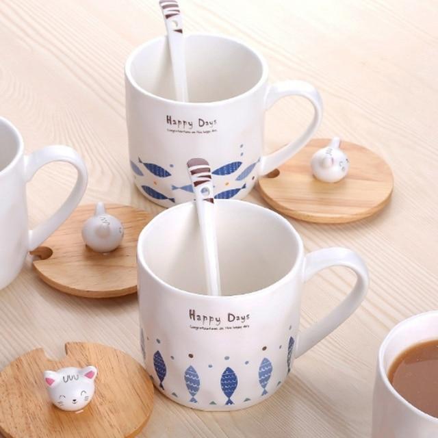 Creative Cat Mugs 6