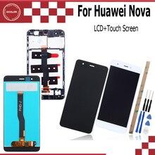 Ocolor para huawei nova display lcd e tela de toque para CAN L01 l11 l02 l12 l03 l13 5.0 accessory accessory acessório do telefone móvel + ferramentas + adesivo