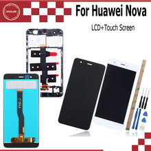 ocolor For Huawei Nova LCD Display and Touch Screen For CAN L01 L11 L02 L12 L03 L13 5.0Mobile Phone Accessory +Tools +Adhesive