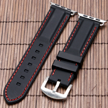 38mm 42mm Apple iWatch Replacement Strap Smart Silicone Watchband Series Apple Watch Sport Buckle Bracelet