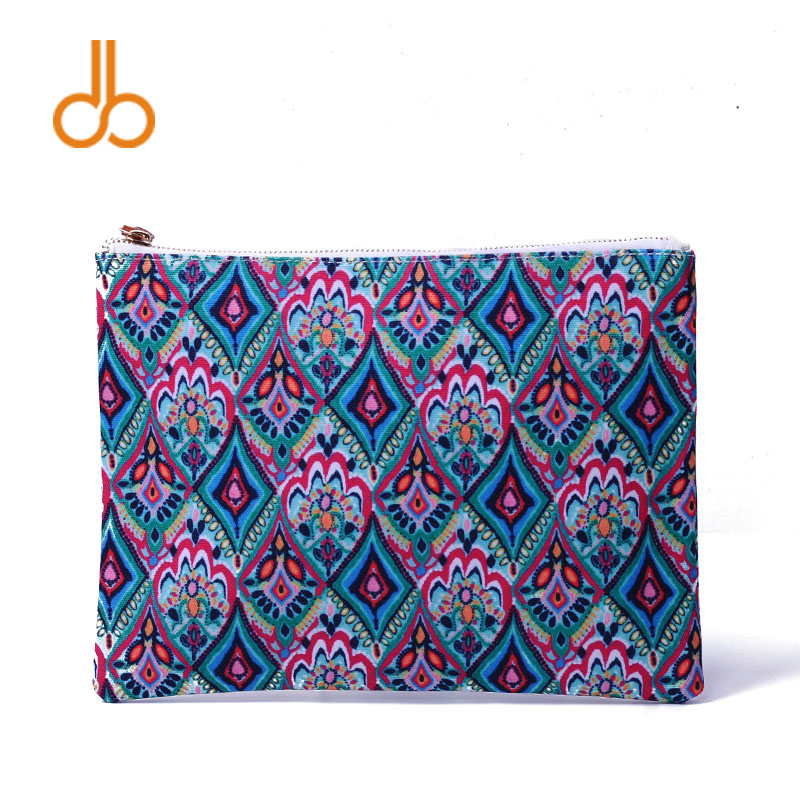 7 Colors Of Lilly Printing Women Pouch Crwon jewel Coral Reef Seshell Makeup Bag DOM103525