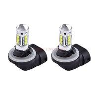 2PCS 80W White LED Headlights Bulbs Lamp Light For Polaris Sportsman/Ranger/Touring 400 450 500 550 600 700 800 850 ATVs UTV