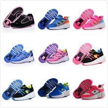Glowing Sneakers Shoes Junior Roller-Skates One-Wheel Girls Sport Luminous Boys Kids
