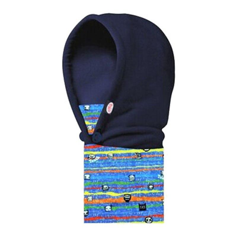 Kid's Polar Fleece Balaclava Full Face Mask Neck Hood Hat Cap Cosplay Child Winter Warmers Cold-proof Hurricane Lamp Cover Scarf
