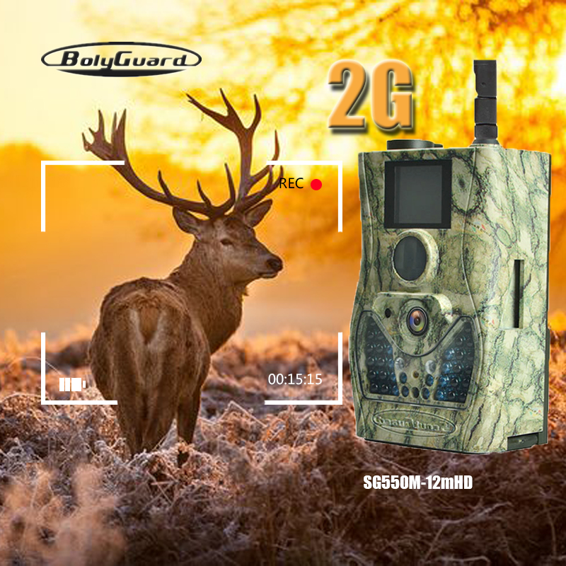 Bolyguard jacht camera 2G MMS GPRS draadloze wild camera 12MP 940nm IRLEDs trail game camera warmtebeeldcamera fotovallen scout