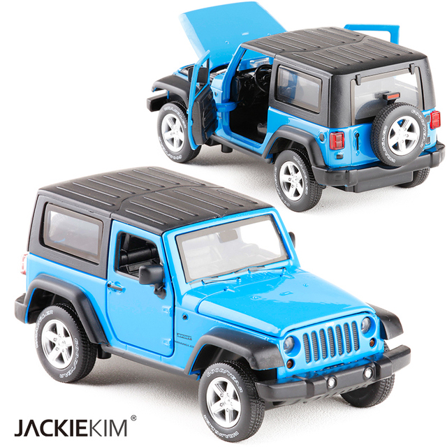 New High Simulation Exquisite Model Toys Model Jeep Wrangler Rubicon  Vehicle Model 1:32 Alloy