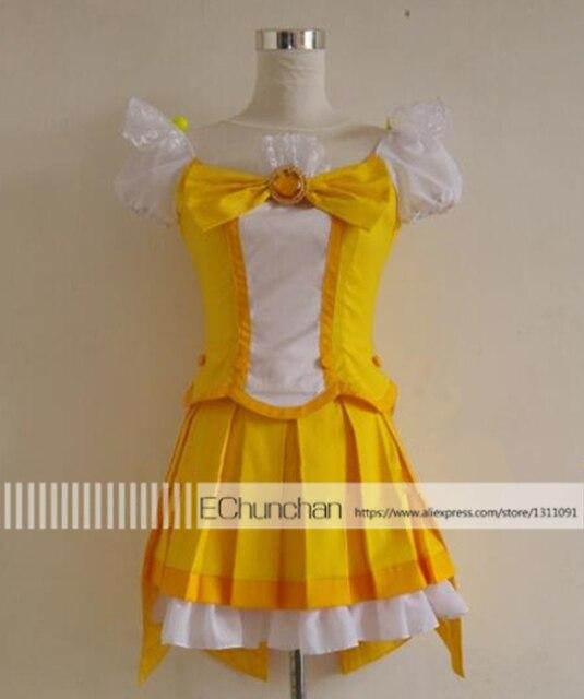Новое прибытие Pretty Cure Кисе Яей Хэллоуин Рождественский Вечер Единая косплей костюм