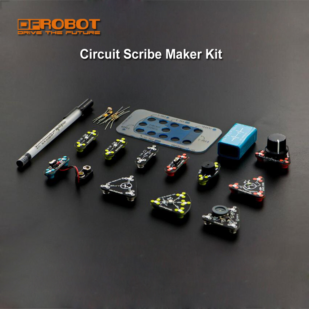 Dfr 100 Genuine Circuit Scribe Maker Kit With Including Books Want Support Create Cool Circuits As Easy Doodling In Demo Board From Computer Office On