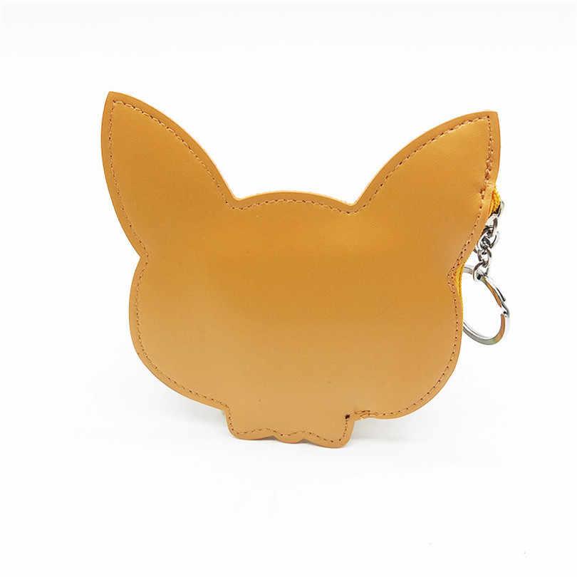 Quer Ir Linda Mulheres Cartooon Animal Print Senhoras Da Moeda Da Carteira Mini Bolsa Da Bolsa Da Moeda Bolsa Chave Saco de Embreagem Menina Kawaii saco de armazenamento
