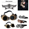 New Arrivals Black Lace Sexy party mask masquerade masks for ladies and  Steampunk Goggles Flying Scooter Vintage Helmet Glasses