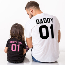 Fashion Daddy Daughter family matching clothes family look father Daughter match