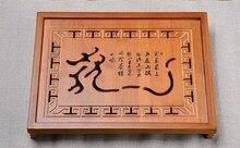 Heißer Verkauf Kung Fu Tee-Set Natürliche Holz Bambus Tee-tablett rechteckigen Traditionellen Bambus Puer Tee Tablett Chahai Teetisch Heißer verkauf