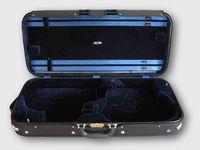 Pro. Wooden Double violin / viola case double case