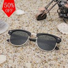 2017 EURYALE Moda gafas de Sol Mujeres de Los Hombres Polarizados Espejo Gafas de Sol Mitad Metal UV400 gafas gafas de sol gafas de Sol Masculinas 3016