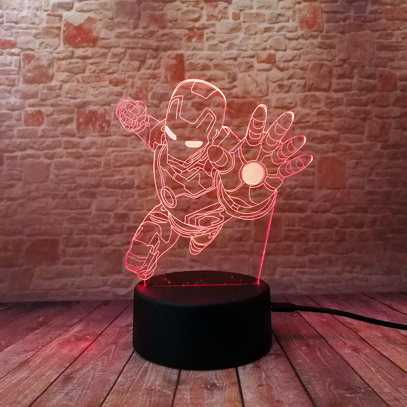 avengers-iron-man-figma-model-3d-illusion-led-nightlight-colourful-flashing-light-font-b-marvel-b-font-super-heros-ironman-figure-toys