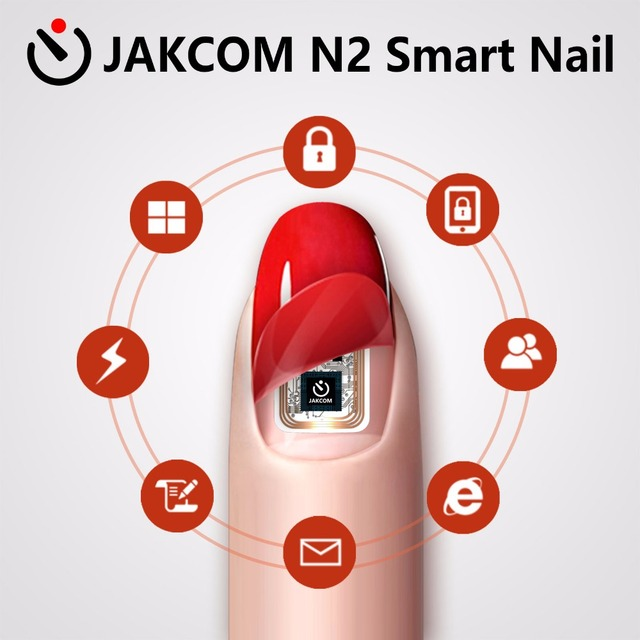 JAKCOM N2 Smart Nail Simulat IC card Connect Phone Flash LED Smart Manicure New Smart Wearable gadget N2M N2F N2L 3types in 1set