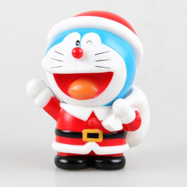 jg chen doraemon pippy bank in santa claus costumes christmas gift for kids saving banks money