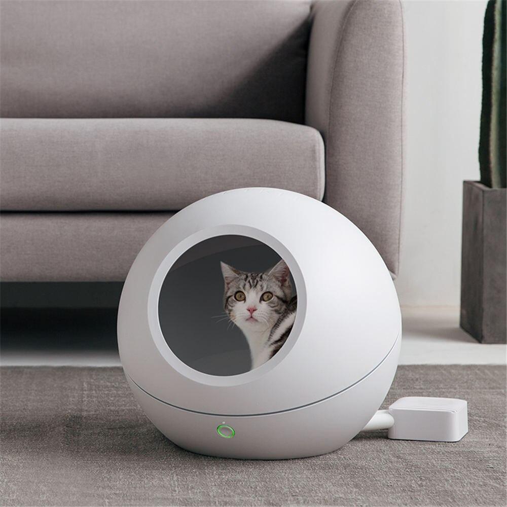 PETKIT pequeño gato perro cama casa camas inteligentes esteras con wifi controlador inalámbrico para mascotas pequeñas gatos cama para dormir cama para gato