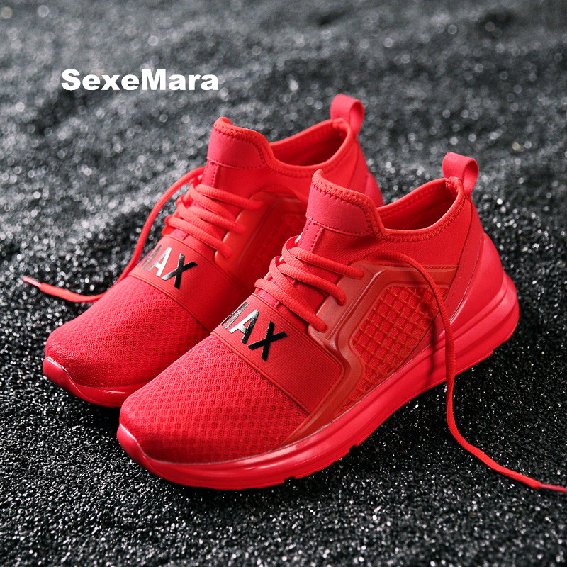 2018 running shoes for women Winter Thermal Brands sneakers men Black Red White Fur sport shoes woman Trainers zapatillas mujer
