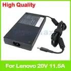 Тонкий 20 V 11.5A 230 Вт ноутбук ac адаптер питания зарядное устройство для lenovo ThinkPad P70 P50 P71 P72 P51 5A10H28356 ADL230NDC3A PA 1231 12LA