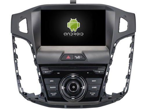 Android 8.1.0 2 gb di ram lettore DVD dell'automobile per Ford Focus 2012 gps di navigazione autoradio audio stereo headunit multimedia nastro registratore