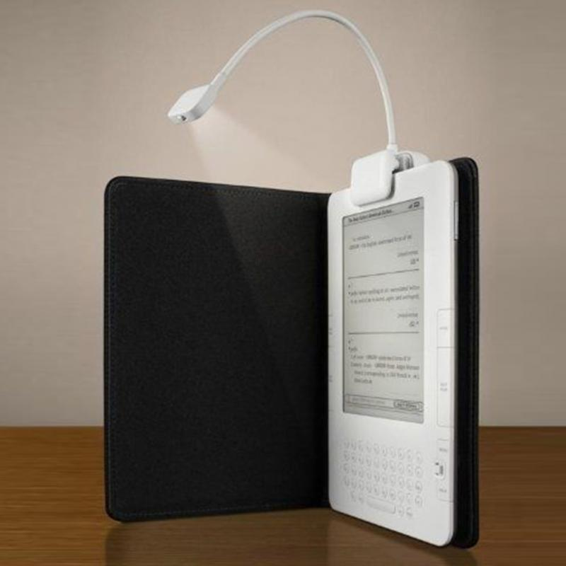 US $4 04 8% OFF|Reading Led Lamp with clip Portable Flexible Mini Bright  Book Reading Light Elbowfor Amazon Kindle/eBook Readers/ PDAs-in Book  Lights