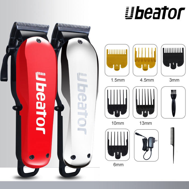 suprem red 100 240V rechargeable hair clipper cut electric hair trimmer powerful cutter hair cutting machine