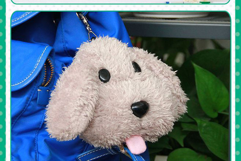 Cute Yuri on ice Victor Puppy Poodle Dog Plush Toy Makkachin Pet Dog Paper Box Keychain Pendant Cosplay Decoration Toy Kids Gift (9)