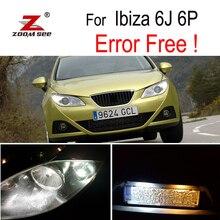6 pz HA CONDOTTO LA Licenza di illuminazione della targa + luce di parcheggio + indicatore laterale lampadina esterna kit per Seat Ibiza V MK5 SPORTCOUPE ST 6J 6 p (09-16)